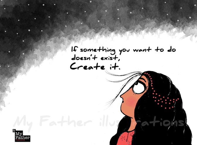 Artist Doodles Life-Changing Advice Women Got From Their Fathers
