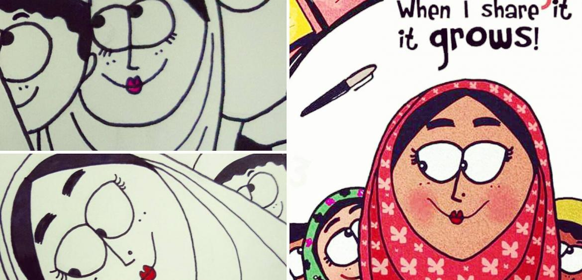 12 Father Daughter Illustrations That'll Leave You Emotional And Inspired
